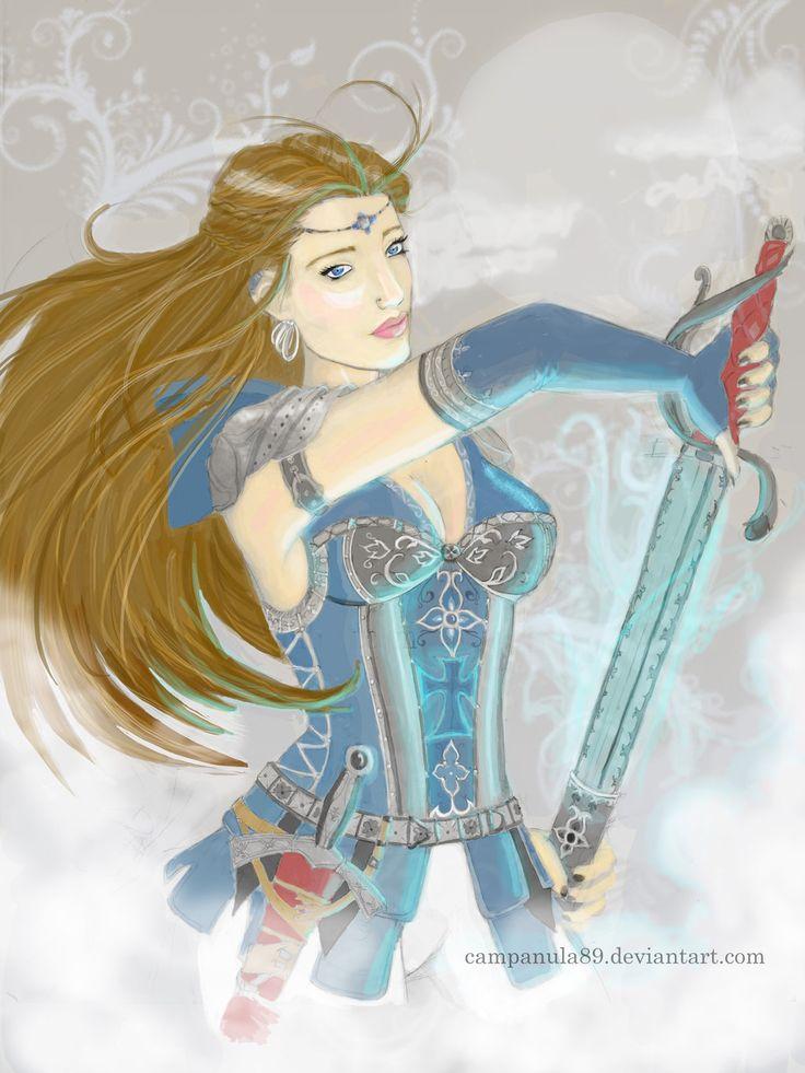 Crusader female by Campanula89.deviantart.com on @DeviantArt