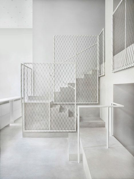 New Milan showroom by David Chipperfield for Italian design brand Driade