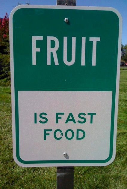 Rethinking fast food :)Fit, Fruit, Quotes, Healthy Eating, Motivation, Fast Food, Weights Loss, Drinks Recipe, Fast Foods