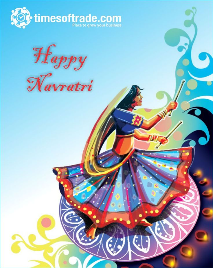 Fortunate is the one Who has learned to admire, But not to envy. Good wishes for a joyous Navratri, With a plenty of peace and prosperity. Happy Navratri  From : http://timesoftrade.com/