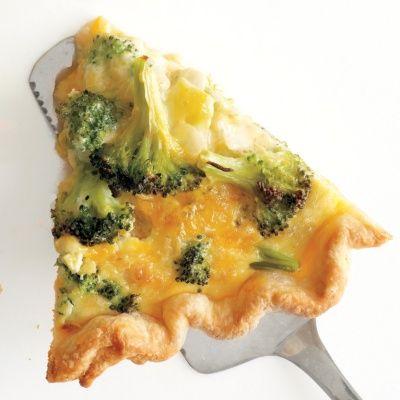 Egg-ceptional Breakfasts: 15 Basic Quiche Recipes - Broccoli-Cheddar Quiche #quiche