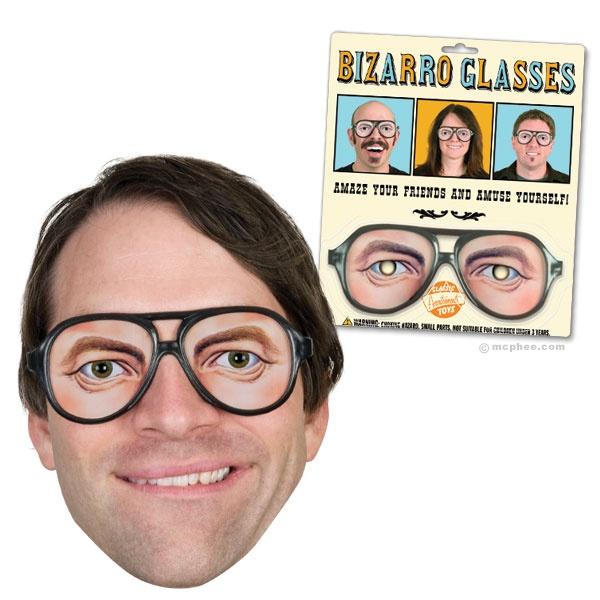 bizarro glasses