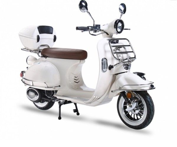 2016 Brand New Vintage Style BMS 150cc Vespa Style Scooter – Up To 75-80 MPG…