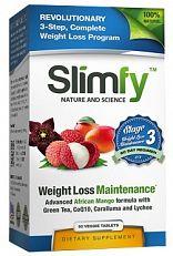 Slimfy Weight Loss And Detox Afslankpillen - Stage 3 60stuks  Gewichtsverlies behouden Slimfy's aangepaste formules worden gemaakt in de VS met eersteklas hoogwaardige ingrediënten. Slimfy's producten moeten zich houdenaan de hoogste normen van voedingsstoffen productie. Ons onderzoeksteam heeft ontelbare uren gewijd aan het uitvoeren van chemische analyses van onze formules om de perfecte balans te vinden. Door te werken met een aantal van de meest vooraanstaande voedingswetenschappers van…