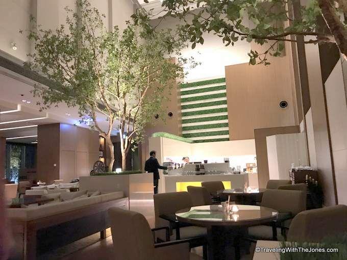 Executive Club Lounge, Marriott Osaka Miyaka hotel, Japan