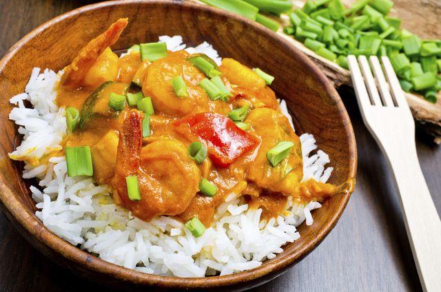 Receta de arroz con curry