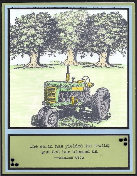 Harvest Blessings by bmbfield - Cards and Paper Crafts at Splitcoaststampers
