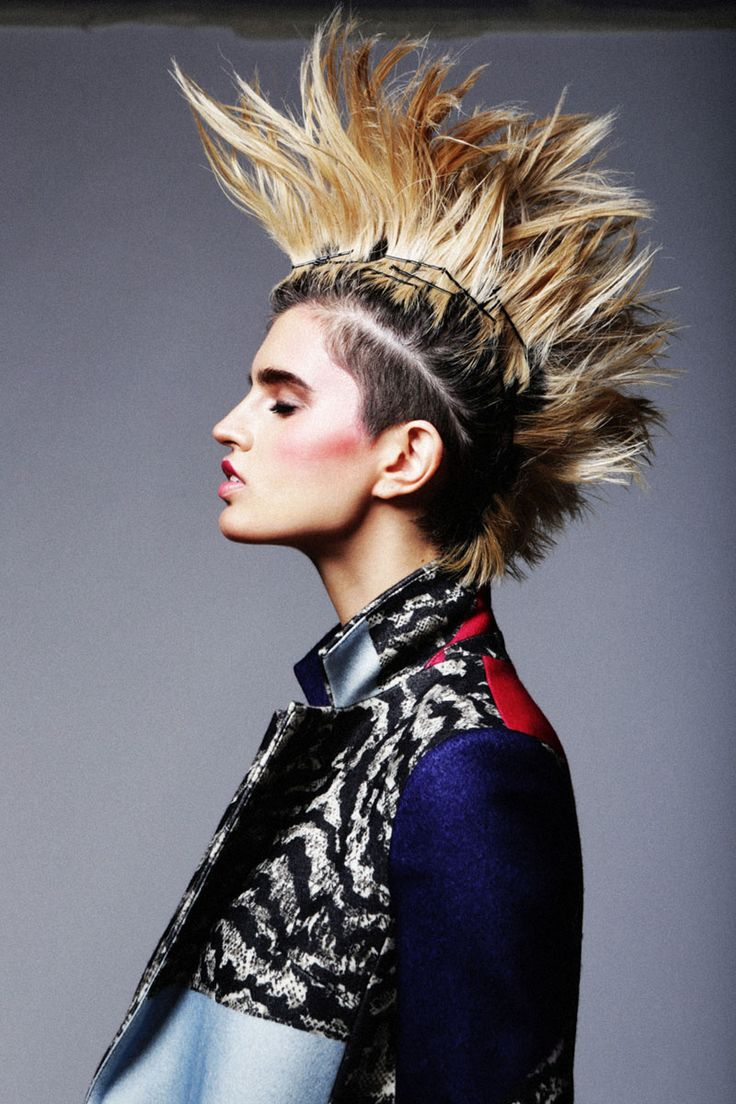 best punk rock fashion editorial images on pinterest