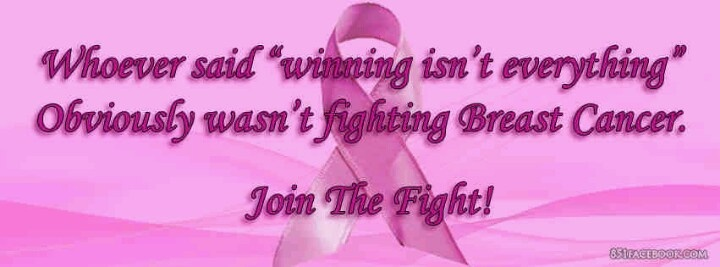 In honor of breast cancer month.