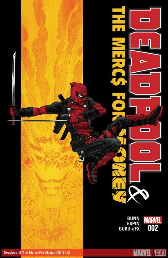 Deadpool & The Mercs For Money (2016) #2Deadpool y sus mercenarios encontraron algo muy valioso! Al igual que ... aún más valioso que un Nuevos Mutantes firmado # 98! DEJE LA OFERTA DE COMENZAR! Por qué escucho uno trillón de dólares?
