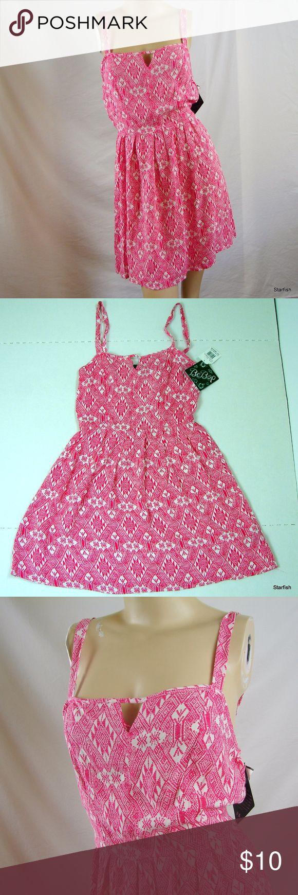 BeBop pink sundress NWT stunning Be Bop pink sundress NWT,   Waist 24-26 Chest 32-34 BeBop Dresses