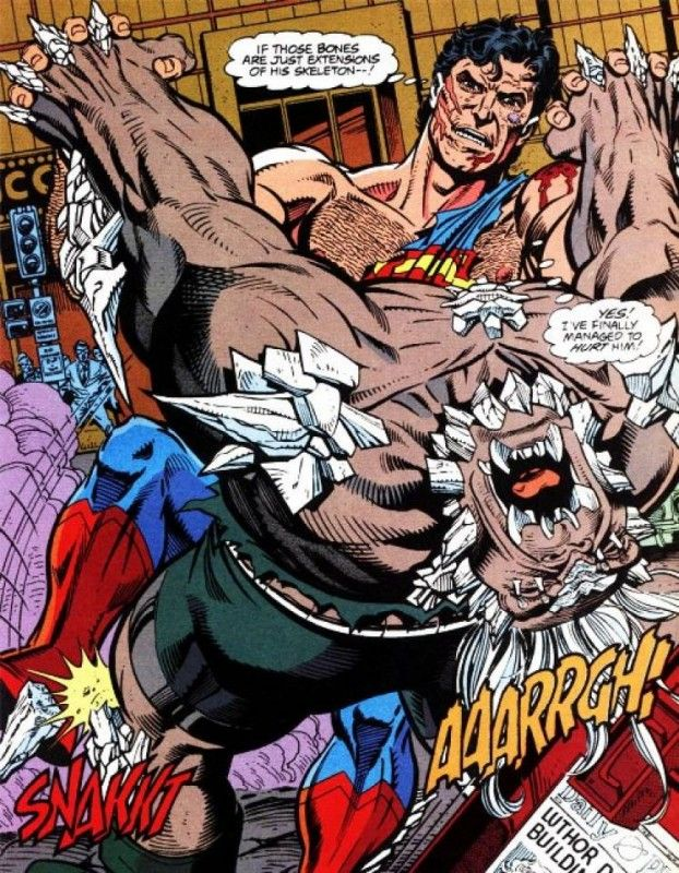 Top 10 Best Comic Book Villains - Toptenz.net/// Doomsday
