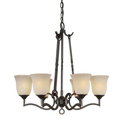 Forte Lighting 25330664 6 Light Chandelier (With images
