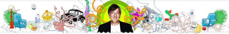 STEPHEN FRY. Witty, wonderful, wise. Who wouldn't want Stephen Fry at their fantasy dinner party?     Having done the intense political, historical , cultural chat I would, ultimately, be forced to ask him to do the Melchett bellow...