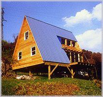 Bon A Frame Cabin (Plan No. 381)
