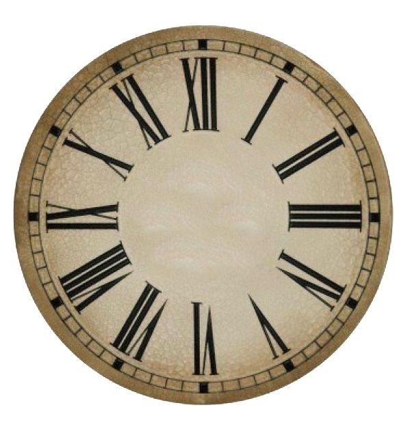 1000+ ideas about Clock Faces on Pinterest   Decoupage, Wooden ...