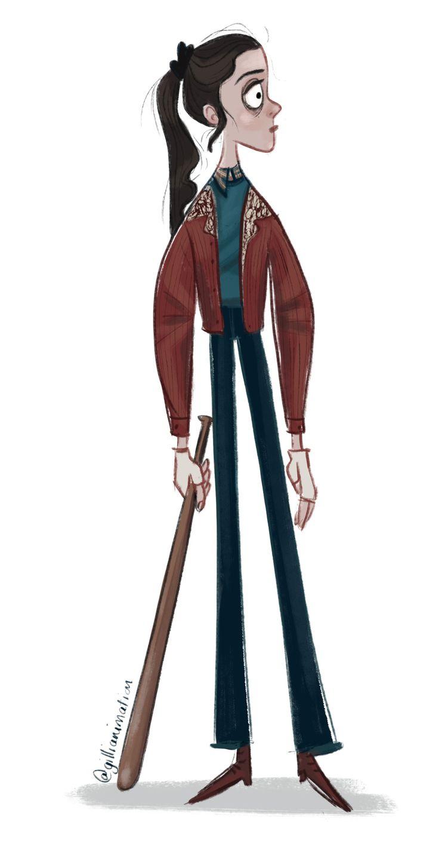 Nancy Wheeler from Stranger Things by Gillianimation