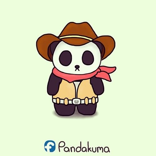 clipart panda cowboy - photo #38