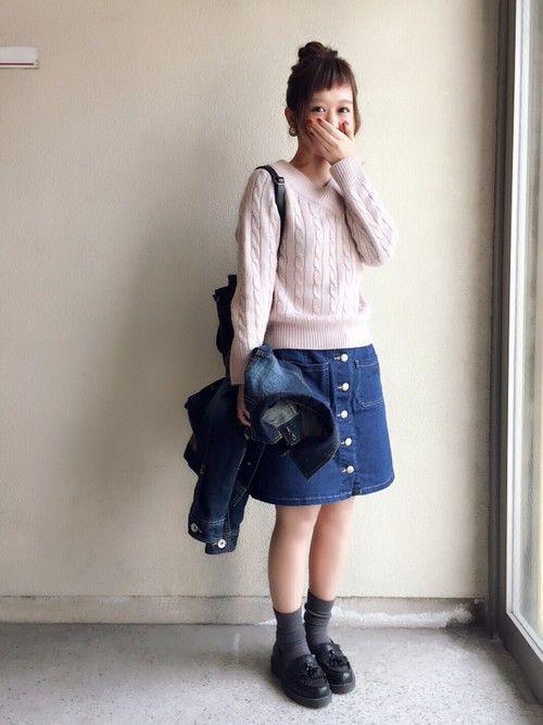 haru ◎|LOWRYS FARMのスカートを使ったコーディネート - WEAR