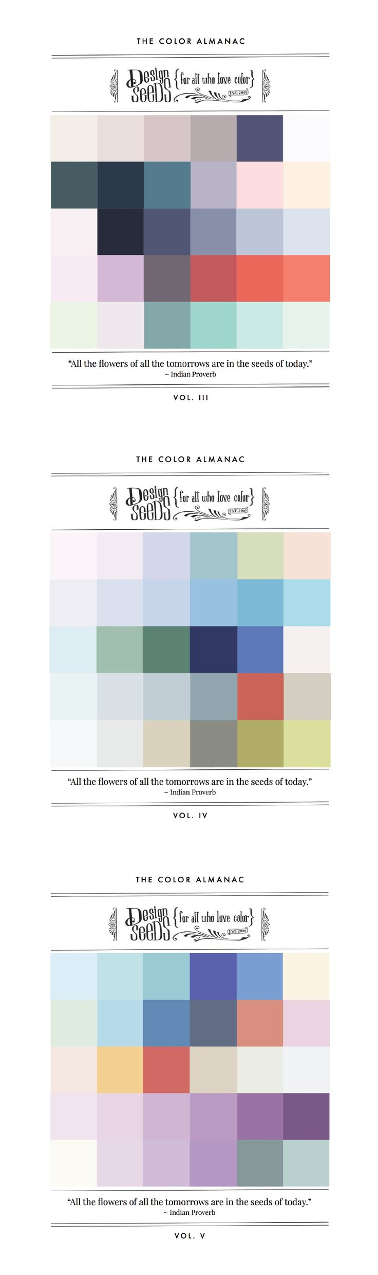 Two New Volumes Of The Color Almanac Were Published This Past Week 499