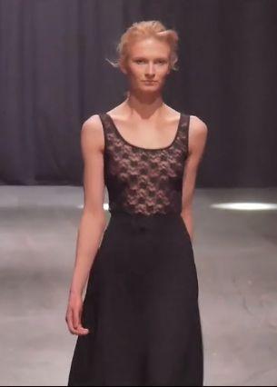 Black laces top.