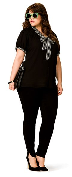 Plus size outfit(forever21)