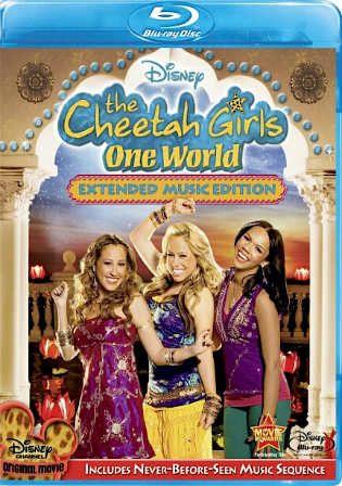 The Cheetah Girls One World 2008 BluRay 300MB Hindi Dual Audio 480p Watch Online Full Movie Download Worldfree4u 9xmovies