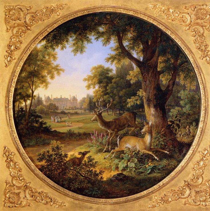 Enamel on hard-paste porcelain biscuitware, 68 x 68 cm Musée du Louvre, Paris