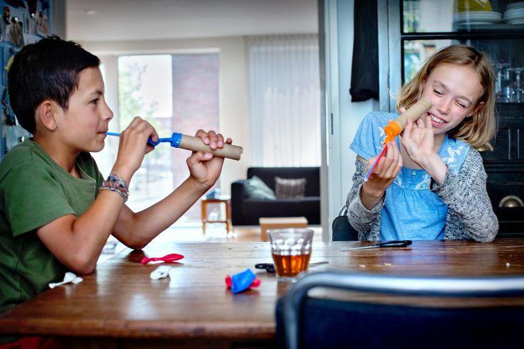 Kinderboekenweek 2015 - Proefjes - Techniek Kinderen - Ontdek thuis de wereld om je heen - Science Center NEMO