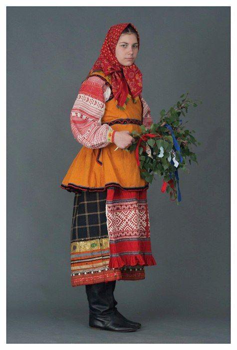 Орловский костюм.