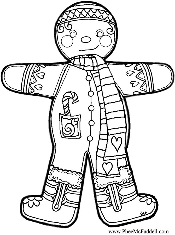 unusual gingerbread house coloring pages - photo#39