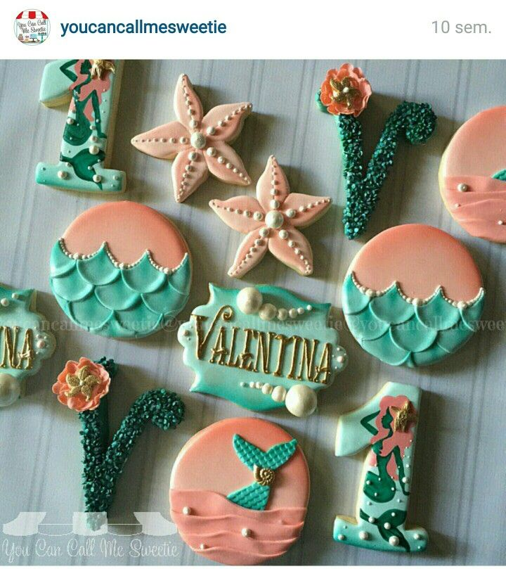 Mermaid cookie                                                                                                                                                     More