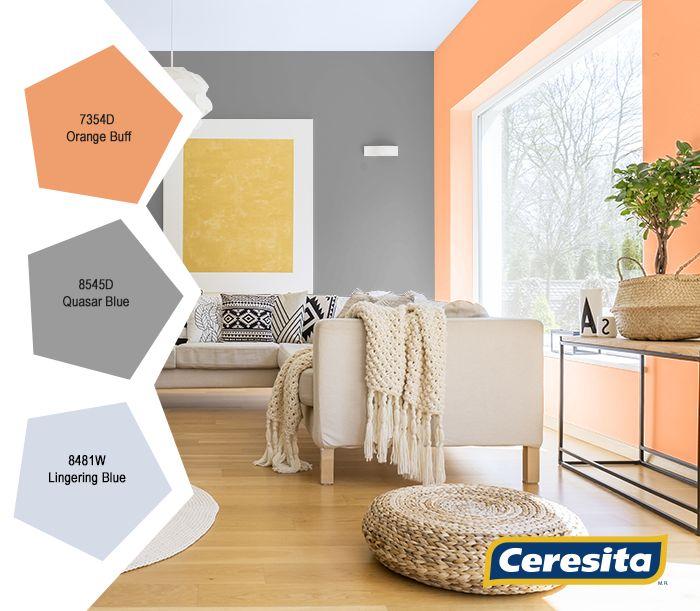 #CeresitaCL #PinturasCeresita #color #Living #TendenciaOrganico #TendenciaColor #pintura #decoración #tendencia #espacios *Códigos de color sólo para uso referencial. Los colores podrían lucir diferentes, según calibrado de su monitor