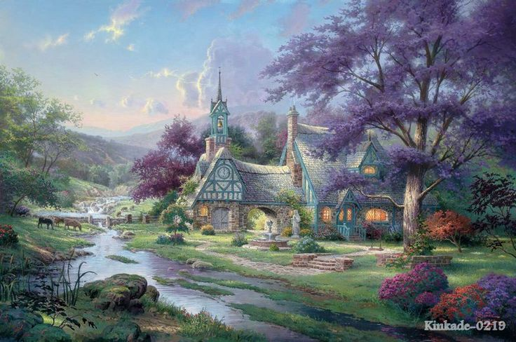 High Quality Cottage Oil Painting-Buy Cheap Cottage Oil Painting ...