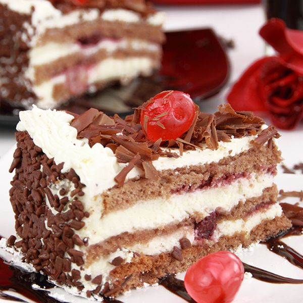 Traditionally a German cake, make a Black Forest Cake for a special occasion