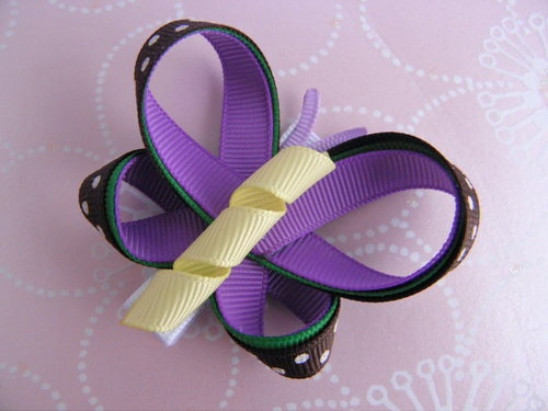 """""""Very Hungry"""" Butterfly Hair Clip"""
