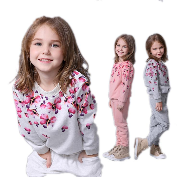 Spring autumn girls clothing set floral printed kids suit set casual two-piece sport suit for girl tracksuit children clothing | UNUM CLICK - Online Shopping for Electronics, Fashion, Home & Garden, Toys & Sports, Health & Beauty and more