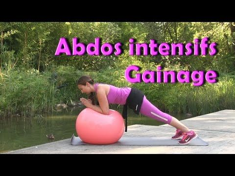 Programme de gainage: abdos intensifs! - YouTube