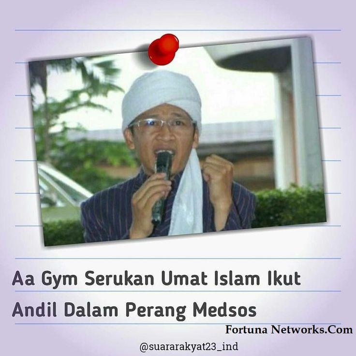 Kyai Aa Gymnastiar 'Calling Muslims to Participate in Social Media War'