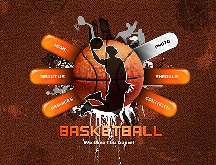 10 best images about basketball website templates on pinterest