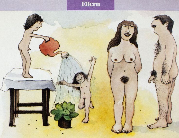 Wie kommt ein Baby in Mamas Bauch und wo kommt es raus? |