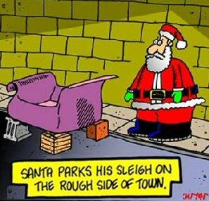 Funny Christmas Pictures | Funny Christmas Cartoons | Clean Joke Pictures | Santa Elves