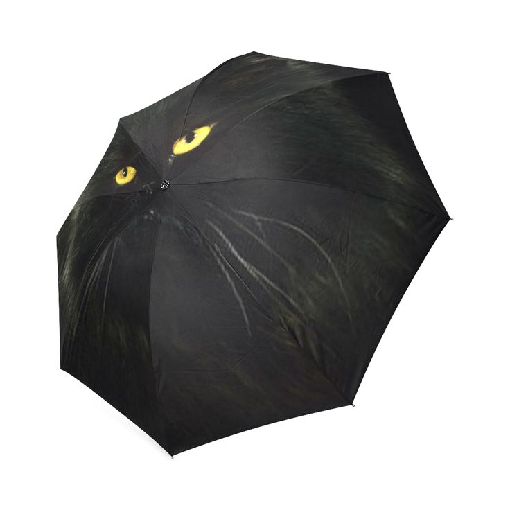 Black Cat Foldable Umbrella. FREE Shipping.  #erikakaisersot #artsadd #umbrellas  #cats