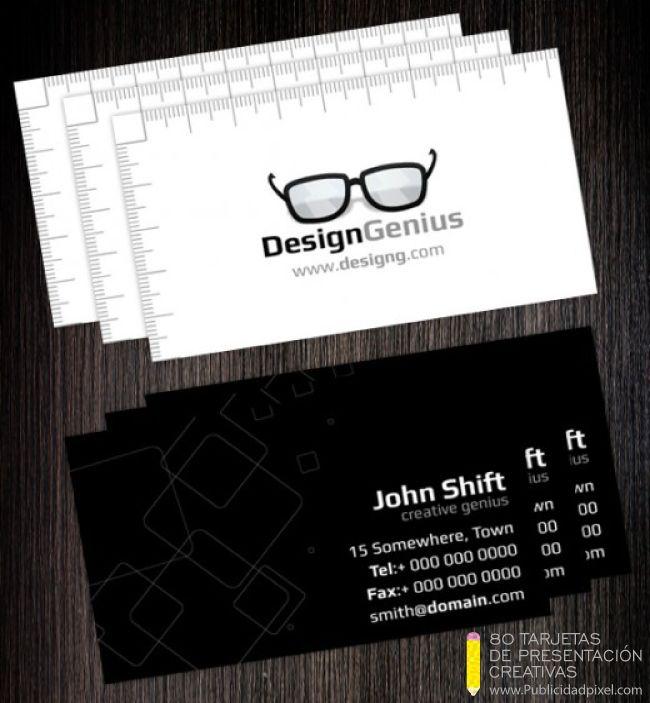 tarjetas de presentacion creativas para diseñadores