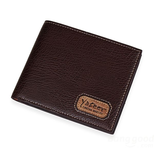 Casual Mens Leather Slim Bifold Credit Card Clutch Holder Male Wallets Purse