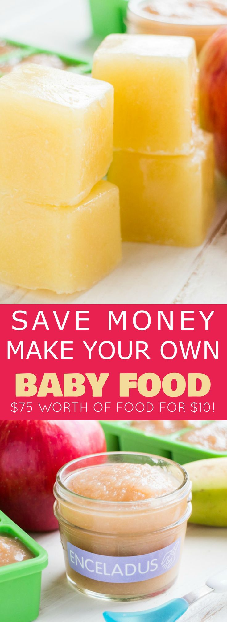 Apple Pear And Banana Baby Food
