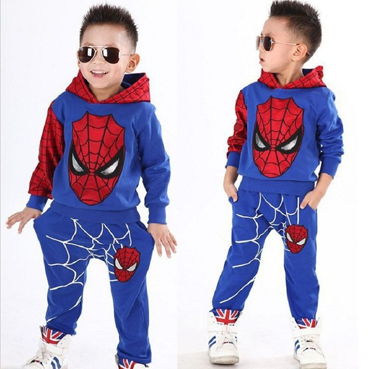 >> Click to Buy << 2015 NEW retail spiderman kids clothing sets children fashion cartoon summer shirt + pants boys tees pants suit #Affiliate