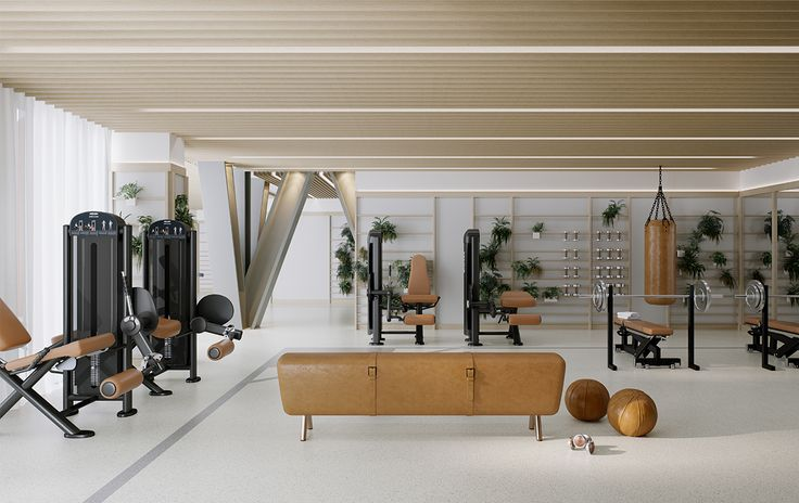 One Crown Place Amenities, London   Studio Ashby