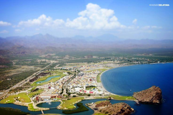 Aereal view of Loreto #josafatdelatoba #cabophotographer #landscapephotography #bajacaliforniasur #mexico #Loreto #sea