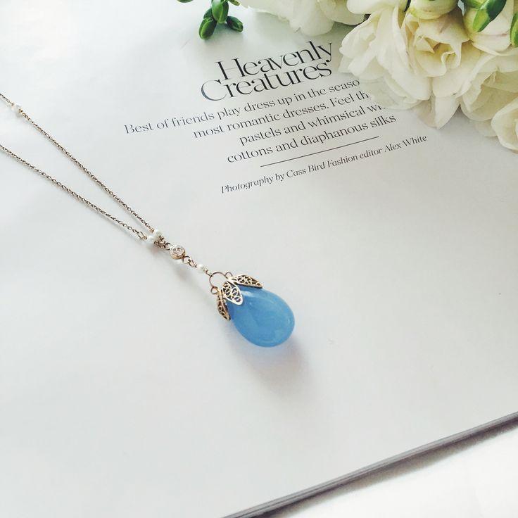 Saturday heaven vibes // www.ishwarajewels.com #ishwarajewels #jewelry #handmade #calcedony #saturdayvibes #fashion #fashionnlog